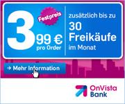 OnVista Depot - 3,99€ Festpreis je Trade