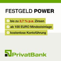 PrivatBank Festgeldkonto Power