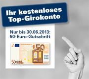 1822direkt Top Konto mit 50€-Startgeld
