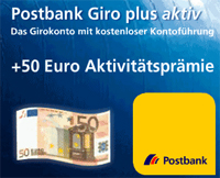 Postbank Giro plus aktiv
