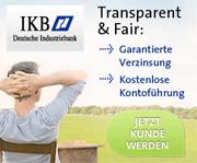 IKB Festgeldkonto
