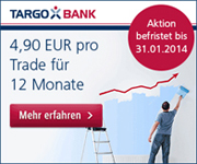 TARGOBANK 4,90€ Flat-Fee-Aktion