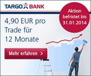 TARGOBANK 4,90€ Flat-Fee-Aktion