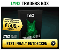 LYNX Traders Box Weihnachtsaktion 2013
