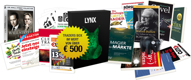 LYNX Weihnachtsaktion Traders Box