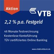 VTB Direktbank Weltmeister-Festgeld-Aktion