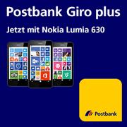 Neukundenaktion - Giro plus mit Nokia Lumia 630