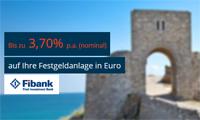 Fibank Festgeld mit bis zu 3,70% Zinsen jährlich