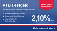 VTB Diretbank Geldanlagen für Minderjährige