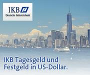 IKB Deutsche Industriebank USD-Festgeld mit bis zu 3,00% Zinsen p.a.