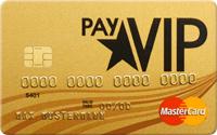 payVIP gebührenfreie MasterCard GOLD