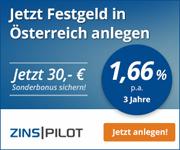 Austrian Anadi Bank Festgeld mit bis zu 1,66% Zinsen p.a.